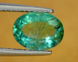 1.50 Ct Brilliant Color Natural Zambian Emerald