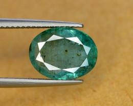 3.45 Ct Brilliant Color Natural Zambian Emerald