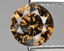 Chocolate Diamond 1.01 Cts  Natural Fancy Color
