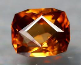 Imperial Zircon 2.41Ct VVS Master Cut Natural Orange Zircon B1613