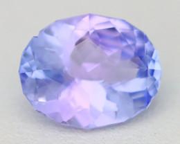 Tanzanite 2.27Ct VVS Master Cut Unheated Purplish Blue Tanzanite B1632