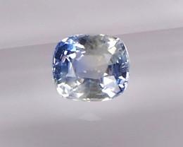 1.04ct unheated bi-colour sapphire