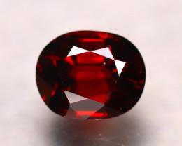 Almandine 2.88Ct Natural Vivid Blood Red Almandine Garnet D1502/B26