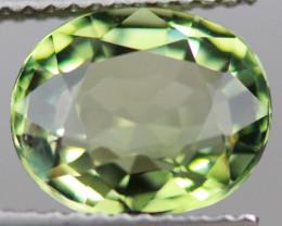 $300 3.19CT 10X8MM Pistachio Green Natural Mozambique Tourmaline-TA125