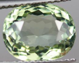 3.24CT 10X8MM Mint Green Natural Mozambique Tourmaline-TA130
