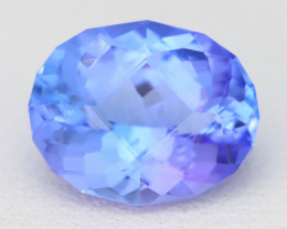 Tanzanite 2.31Ct VVS Master Cut UnheatedPurplish Blue Tanzanite A1725