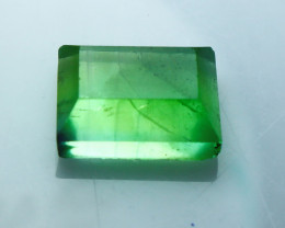 NR!!! 10.80 Cts Natural & Unheated~ Green Fluorite Faceted Cut stone
