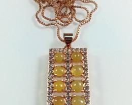Natural Grade A Jadeite Jade Abacus Pendant