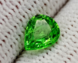 0.77CT RARE TSAVORITE GARNET BEST QUALITY GEMSTONE IIGC57