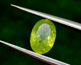 1.21CT SPHENE COLOR CHANGE  BEST QUALITY GEMSTONE IIGC57