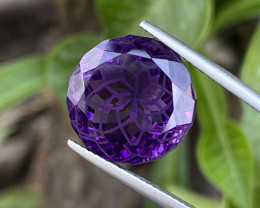 Natural Amethyst 13.68 Cts Excellent Fancy Cut Gemstone