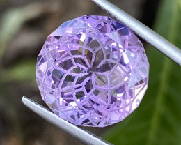 Natural Amethyst 10.43 Cts Excellent Fancy Cut Gemstone
