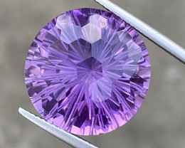 Natural Amethyst 21.64 Cts Excellent Fancy Cut Gemstone