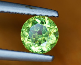 .80CT BRIGHT LIME GREEN RARE DEMANTOID GARNET