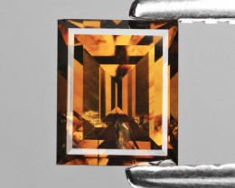 Diamond 0.55 Cts Cognac Brown Color Natural Diamond