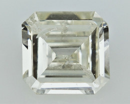 0.99 cts  , Off white Diamond , Exceptional shaped diamond