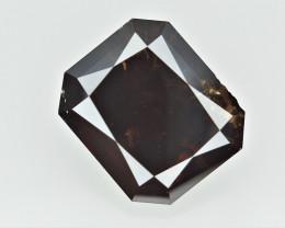 2.64 cts  ,  Emerald Brilliant Cut Diamond , Huge Natural Diamond