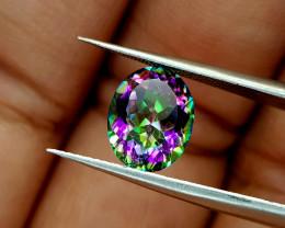 2.35Crt Mystic Quartz  Natural Gemstones JI51