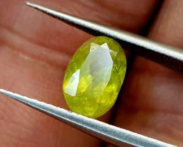 1.32Crt Sphene Color Change Natural Gemstones JI51