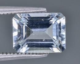 2.18 Crt Aquamarine Faceted Gemstone (Rk-18)