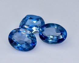4.48 Crt Topaz London Blue Lot Faceted Gemstone (Rk-18)