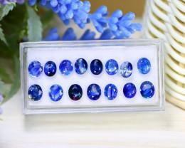 Sapphire 10.55Ct Oval Cut Natural Australian Blue Sapphire Lot Box C2029