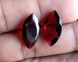 18 x 9 mm Garnet Gemstone 100% NATURAL AND UNTREATED VA154