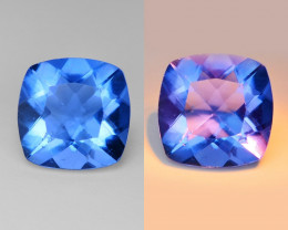 *No Reserve* Fluorite  2.41 Cts Color Change Natural Gemstone