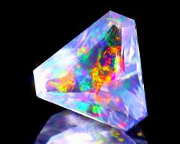 ContraLuz 2.96Ct Trillion Cut Mexican Very Rare Species Opal A2014