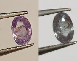 Alexandrite Oval Shape Excellent  Color Change Stone 0.25ct (SKU 1)