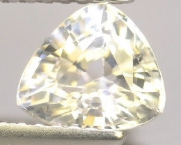 1.50 CTS  NATURAL RARE WHITE ZIRCON EXCELLENT UNHEATED