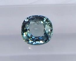 1.14ct unheated greenish blue sapphire