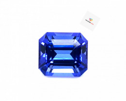 3.20(ct) Pleasing Blue Color Tanzanite Perfectly Cut Gem