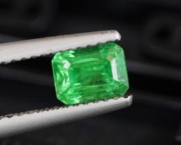 1.24CT AAA GREEN COLOR NATURAL GREEN TSAVORITE