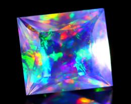 ContraLuz 1.20Ct Octagon Cut Mexican Very Rare Species Opal A2118