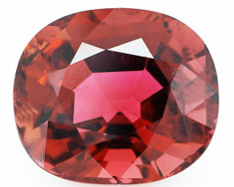 $1400 6.37 CT Rosewood Pink Natural Mozambique Tourmaline-TD3