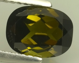 2.05 CTS AWESOME NATURAL GREEN TOURMALINE  GEM!!