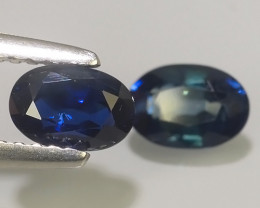 1.40 CTS AWESOMEBLUE SAPPHIRE FACET GENUINE MADAGASCAR~EXCELLENT!!