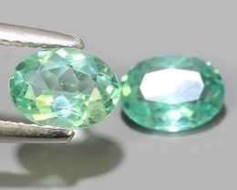 1.70 CTS EXQUISITE GREEN COLOR UNHEATED APATITE~OVAL EXCELLENT!