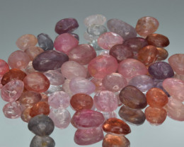 100.77 Cts Natural Spinels Multicolr Polished Tumbled Lot