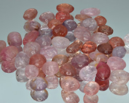 100.23 Cts Natural Spinels Multicolr Polished Tumbled Lot