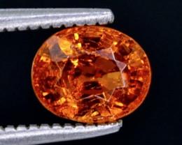 1.35 Crt  Spessartite Garnet Faceted Gemstone (Rk-19)