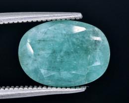 3.27 Crt  Emerald Faceted Gemstone (Rk-19)