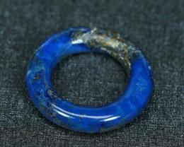 18.80CT RICH BLUE NATURAL LAPIS LAZULI RING
