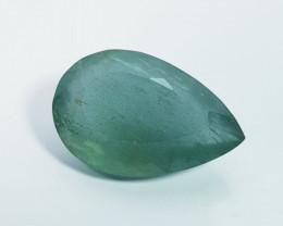 16.00 ct Top Grade Gem Stunning Pear Cut Natural Aquamarine