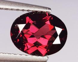2.49 ct Top Quality Oval Cut Natural Purple Pink Rhodolite Garnet