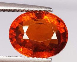 4.86 ct AAA Grade Gem Oval Cut Natural Hessonite Garnet