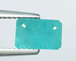 1.31 ct Fantastic Gem Awesome Emerald Cut Natural Grandidierite