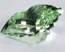 6.97Cts Amazing Natural Green Amethyst (prasiolite) Butterfly Cut