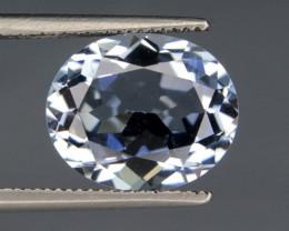 NR 3.85 Cts Flawless Natural Blue Aquamarine Gemstone